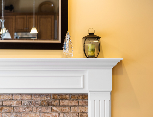 Real Estate Photography – Fireplace Mantel 1