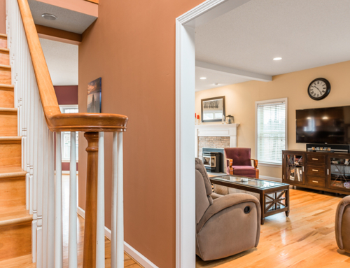 Real Estate Photography – Stair Railing 1