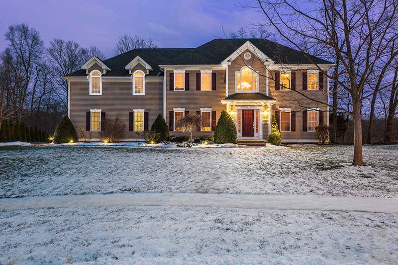 Steven William Photography - Real Estate Exteriors - Twilight Colonial 01 (web)